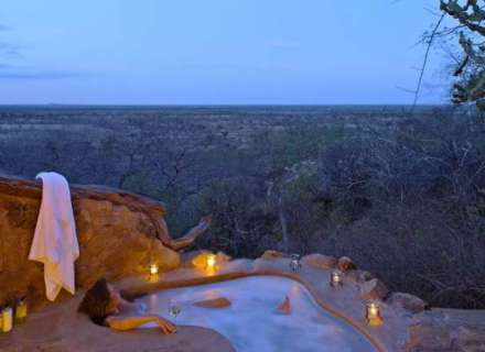 Indulgent African Bush Baths!