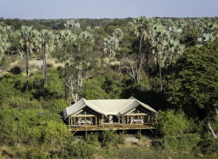 Tubu Tree Camp - Jao Concession - Okavango Delta