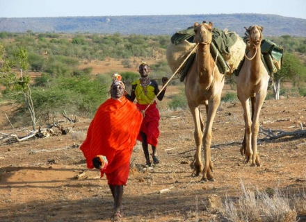 4 Night Tumaren to Ol Tome Camp supported by camels