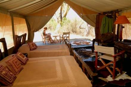 Porini Mara Camp - Ol Kinyei Conservancy
