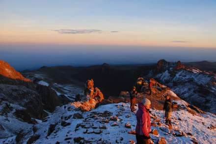 Try Climbing Mount Kenya